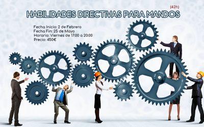 Habilidades directivas para mandos