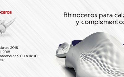 CURSO DE RHINOCEROS PARA CALZADO Y COMPLEMENTOS
