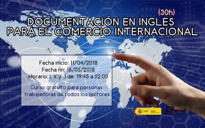DOCUMENTACIÓN EN INGLES  PARA EL COMERCIO INTERNACIONAL