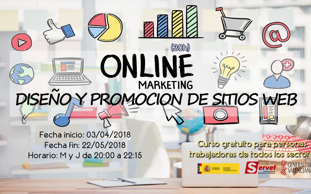 MARKETING ONLINE DISEÑO Y PROMOCION DE SITIOS WEB