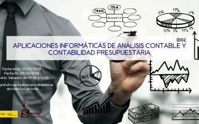 APLICACIONES INFORMÁTICAS DE ANÁLISIS CONTABLE Y CONTABILIDAD PRESUPUESTARIA