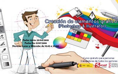 Creación de elementos gráficos (Photoshop & Illustrator)