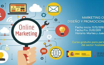 Marketing Online – Diseño y promoción de sitios web