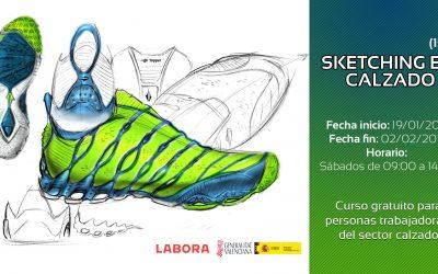 Sketching en calzado