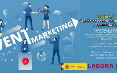 Gestión de eventos de marketing y comunicación