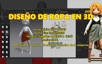 Diseño de ropa en 3D