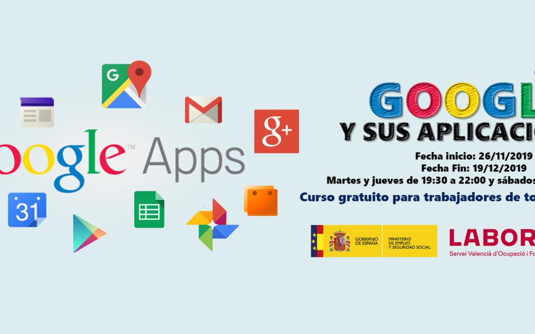 Google y sus aplicaciones