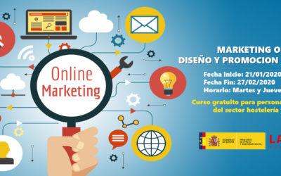 Marketing online. Diseño y promoción de sitios web
