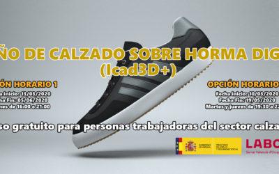 Diseño de calzado sobre horma digital(Icad3D+)