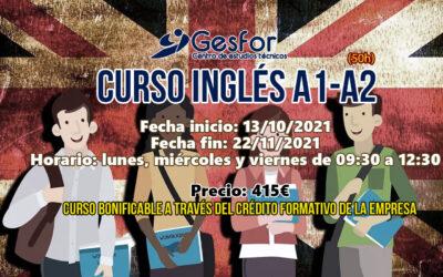 CURSO INGLÉS A1-A2 BONIFICADO